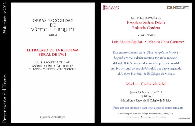 Presentaci 243 N Del Libro El Fracaso De La Reforma Fiscal De