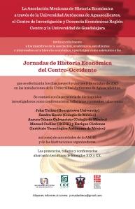 Cartel Jornadas de Historia Económica
